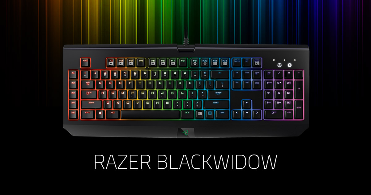 List of Synonyms and Antonyms of the Word: razer blackwidow