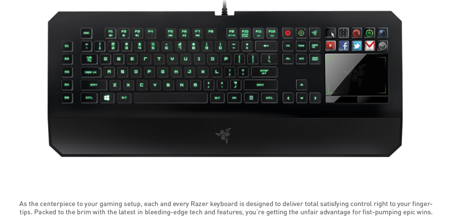 Razer Gaming Keyboards Amp Keypads Ergonomic Keyboards