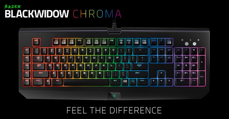 Razer BlackWidow Chroma - Buy online from Amazon, Scan