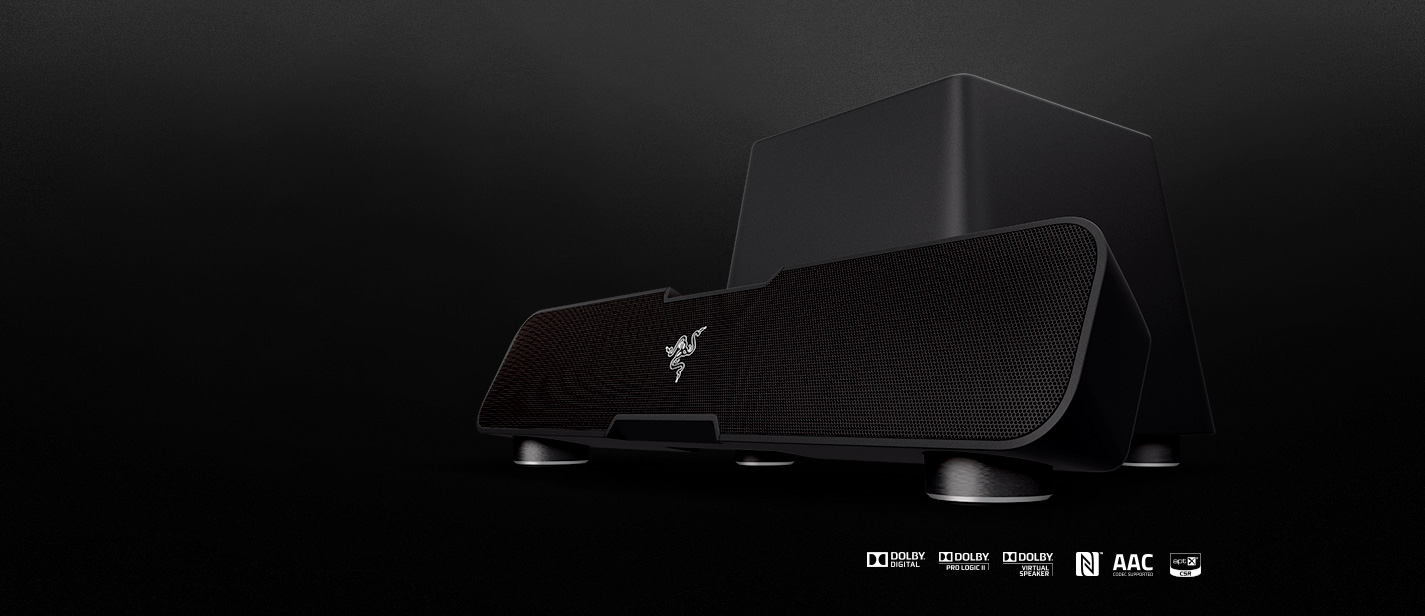 Razer Leviathan 5 1 Channel Surround Sound Bar For Gaming