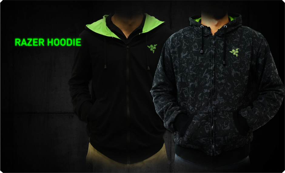 Razer Hoodie - Buy Gaming Grade Apparels - Official Razer Online Store (Singapore