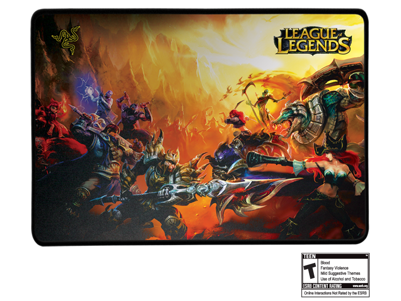League Of Legends Collector S Edition Razer Goliathus