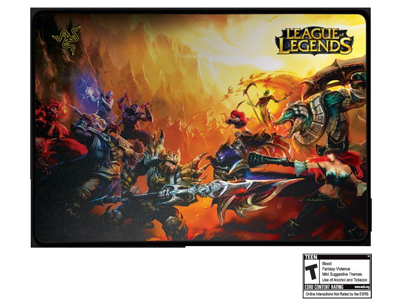League Of Legends Collector S Edition Razer Goliathus