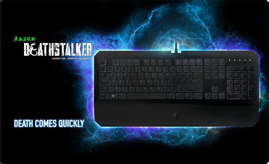 Razer Deathstalker Essential Gaming Keyboard Razer Asia