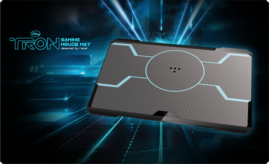 Tron 174 Gaming Mouse Mat Designed By Razer