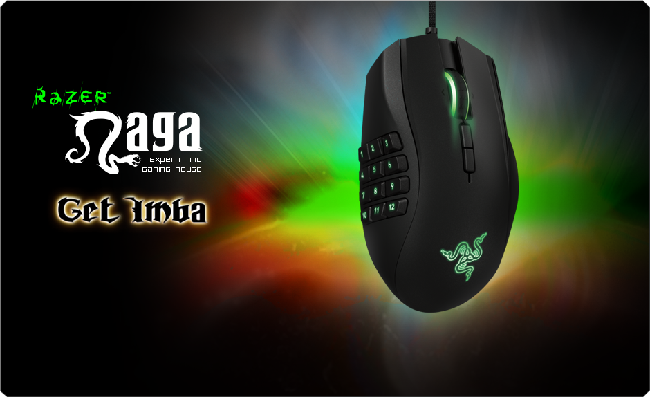 Best Gaming Mouse - Razer Naga