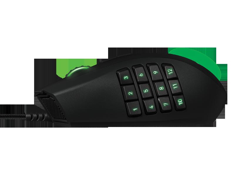 Лучшая мышь для ММО игр Razer Naga