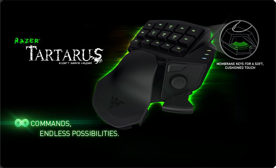 A-Power com - Buy Razer Tartarus Membrane Gaming Keypad