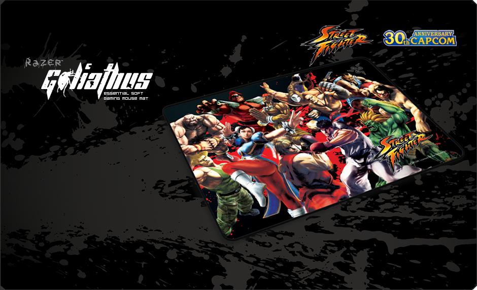 c43ba2c9c44 Street Fighter Razer Goliathus Speed Edition - Soft Gaming Mouse Mat ...