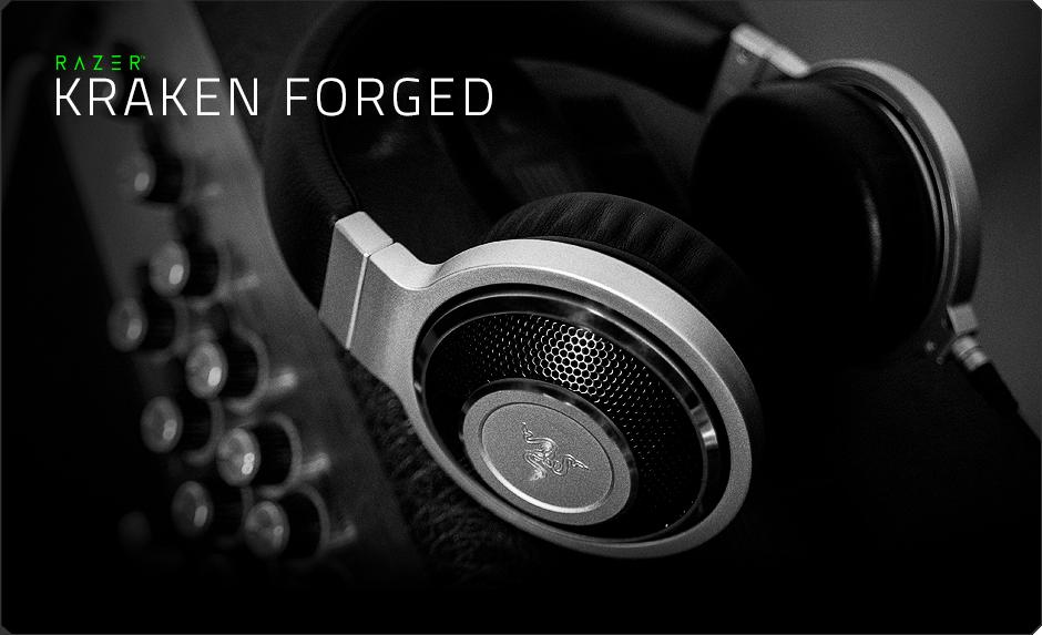 Razer Kraken Forged Edition Music Amp Gaming Headphones