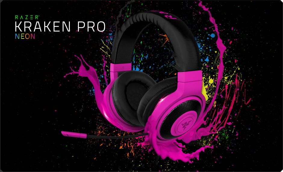 Razer Kraken Pro Neon - Analog Gaming Headset eac4672efe