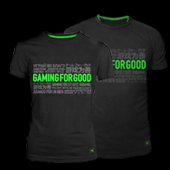 "Razer ""Gaming For Good"" Tee"