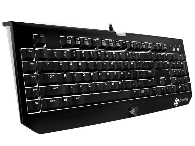 Razer BlackWidow Ultimate Stealth - Counter Logic Gaming - Gaming Keyboard