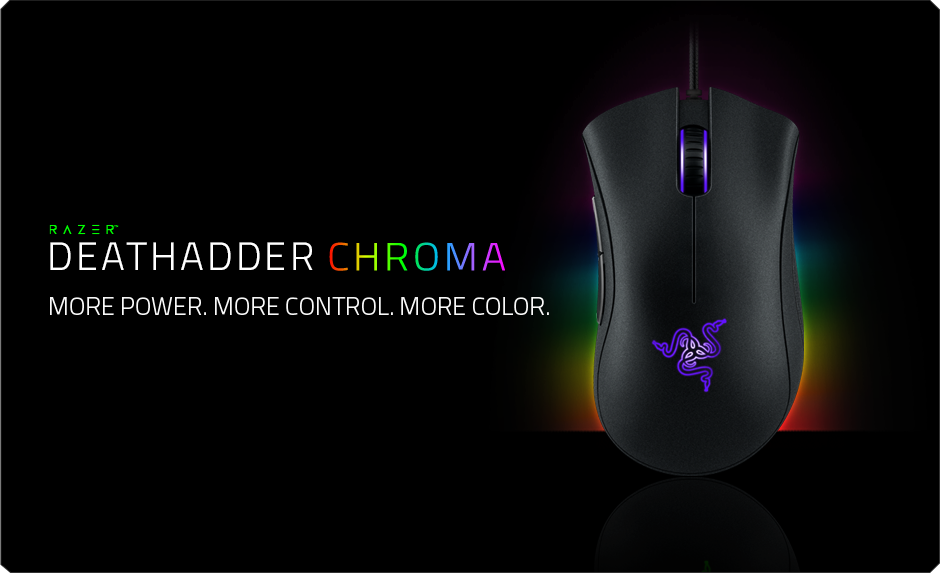 cf7faa9139c Razer DeathAdder Chroma - The World's Best Gaming Mouse