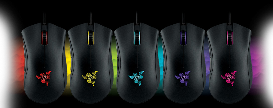 Razer-Deathadder-Chroma with RGB gaming mice