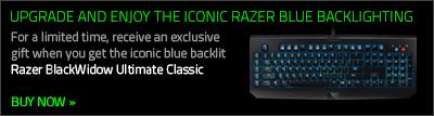 Razer BlackWidow Ultimate Classic