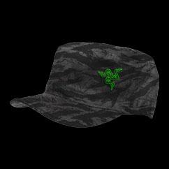 Razer Black Camo Military Cap