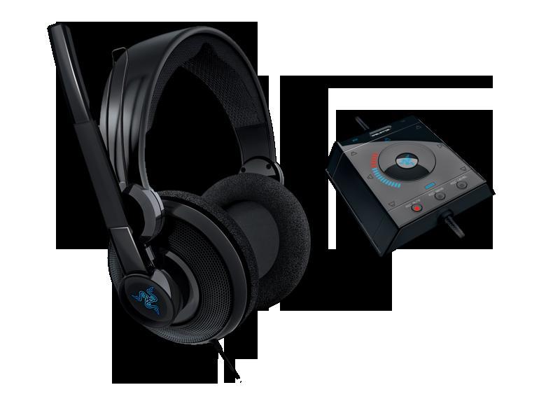 Razer Megalodon Gaming Headset 7 1 Surround Sound Gaming