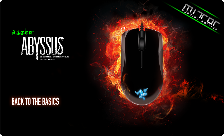 Razer Abyssus Mirror PC Gaming Mouse