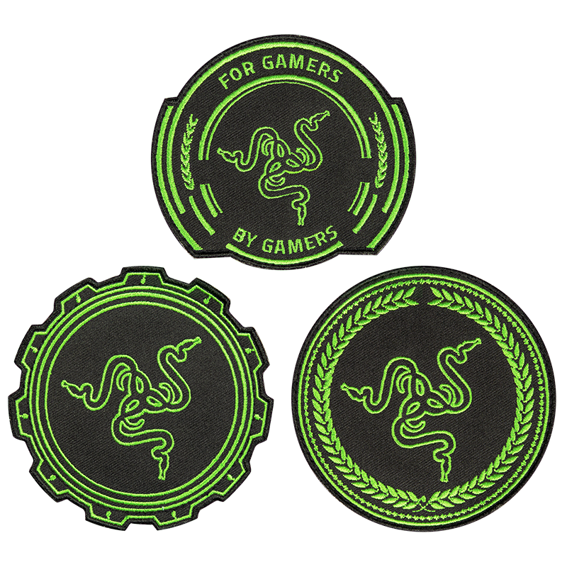 Razer Embroidery Patch Packet