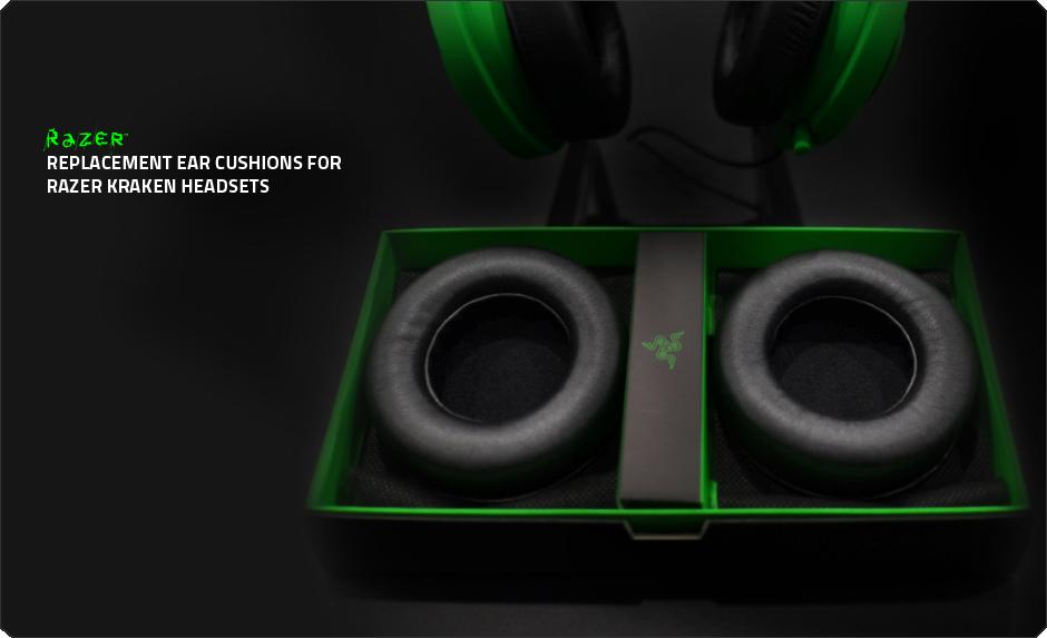 Replacement Ear Pads Ear Cushion Compatible with Kraken 7.1 Kraken Pro Gaming Headphones