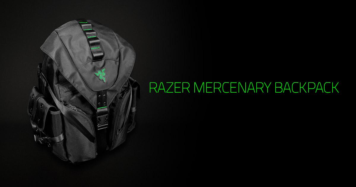 Razer Mercenary Backpack Travel Bag For Gamers Linkis Com
