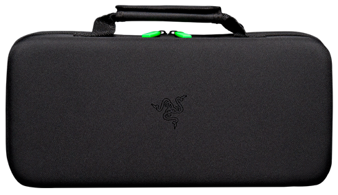 Razer Seiren Pro Microphone comes with carrying case