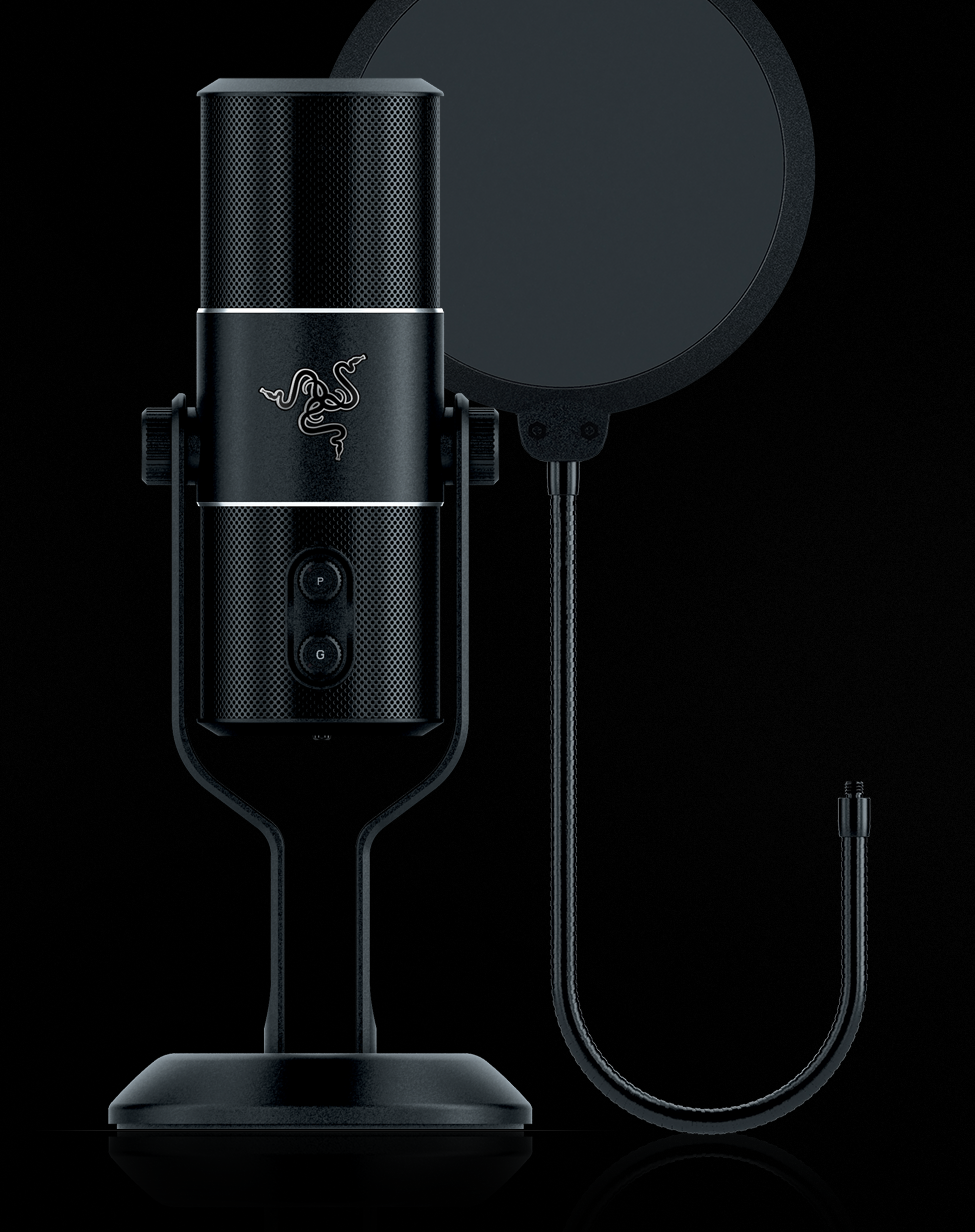 Razer Seiren Pro Microphone and Audio Recorder Main Image