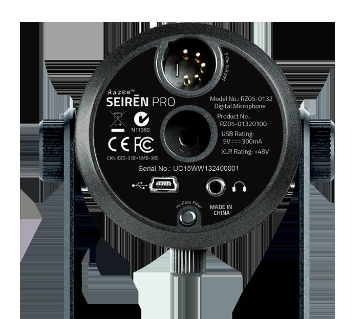 Razer Seiren Pro XLR Output