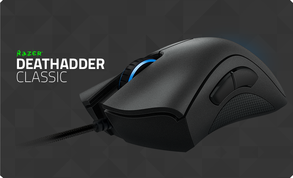 death adder Equipped with an advanced optical sensor, the razer deathadder elite gives  you the absolute advantage of having a fast sensor.