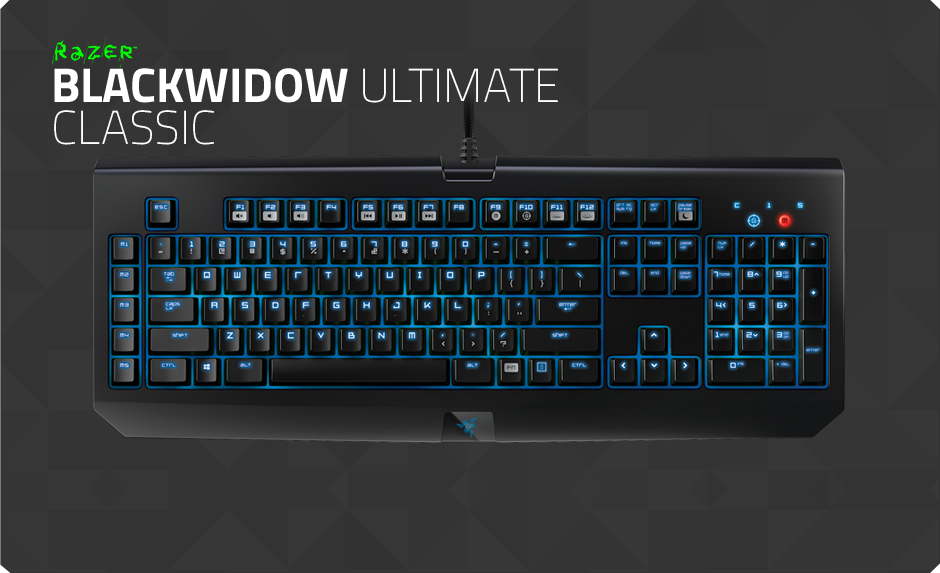 Razer Blackwidow Ultimate Classic Buy Gaming Grade