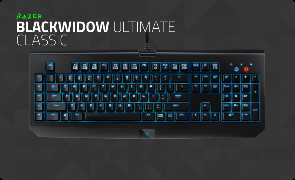 Razer Blackwidow Ultimate Classic Buy Gaming Grade