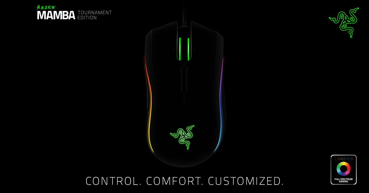 razer mamba tournament edition драйвер