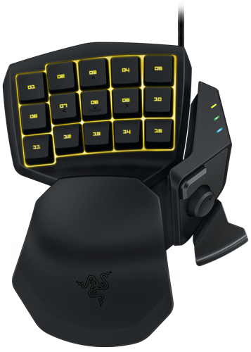 Razer Tartarus Chroma Yellow
