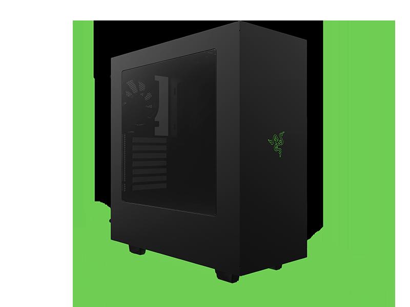 Nzxt S340 Designed By Razer Licensed Computer Case