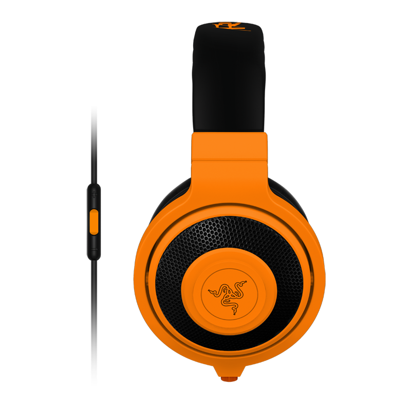 Razer kraken mobile analog music gaming headphones for Orange mobel