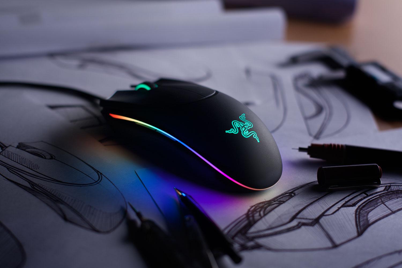Razer Diamondback Gaming Mouse Enhanced Ambidextrous Mouse