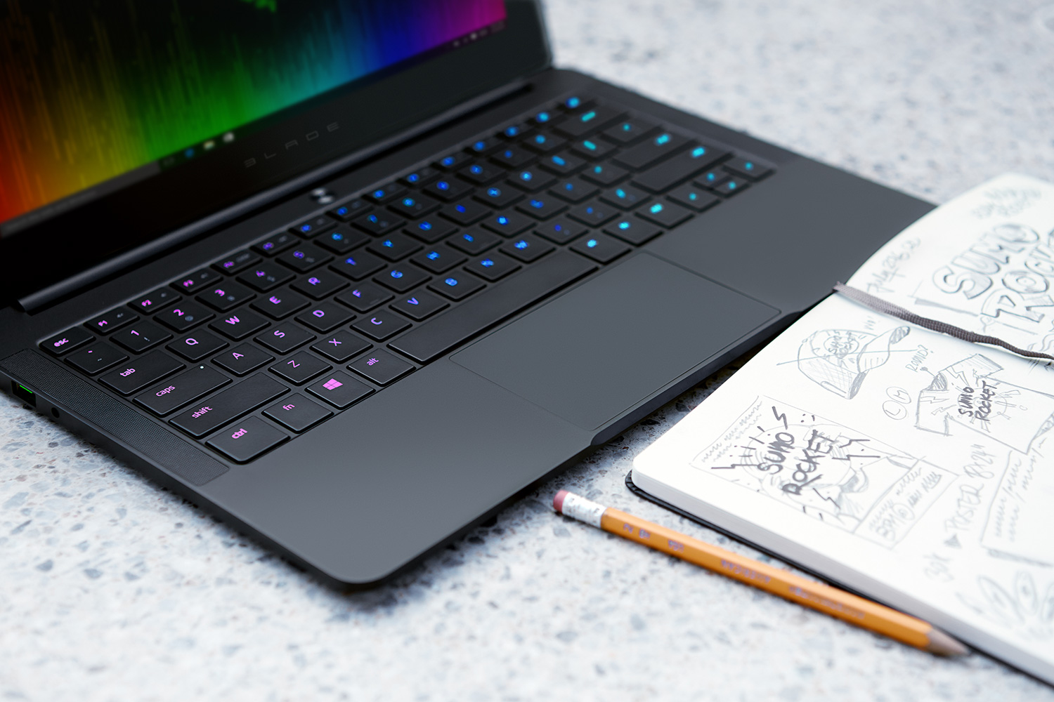 The New Razer Blade Stealth Fast Performance Ultrabook
