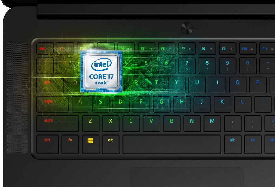 Intel processor in Razer Blade