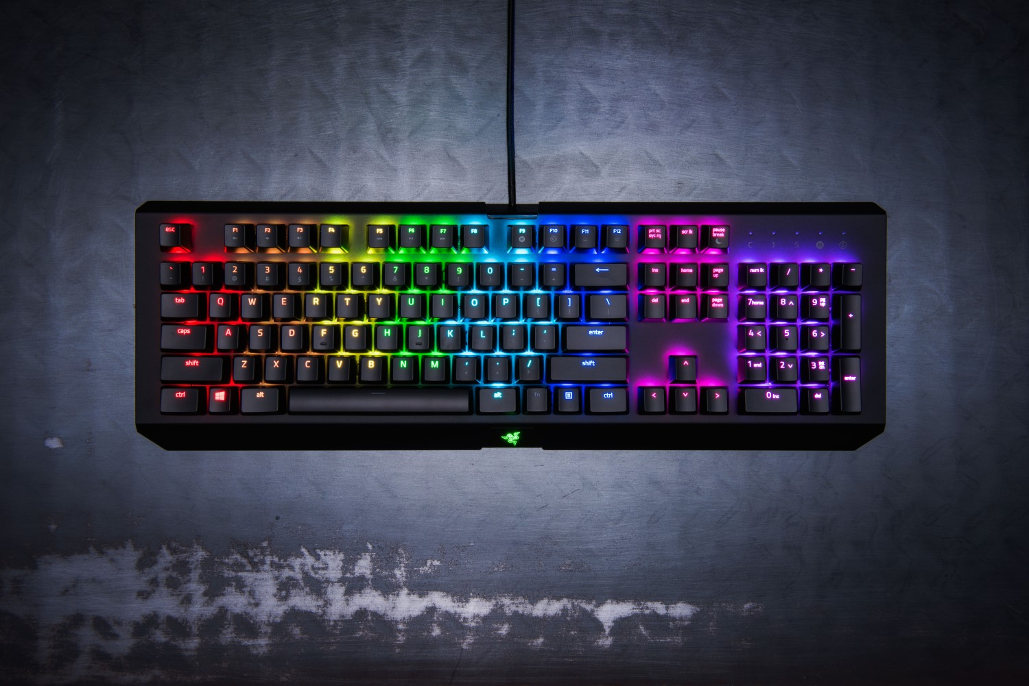 Razer Blackwidow X Chroma Mechanical Keyboard