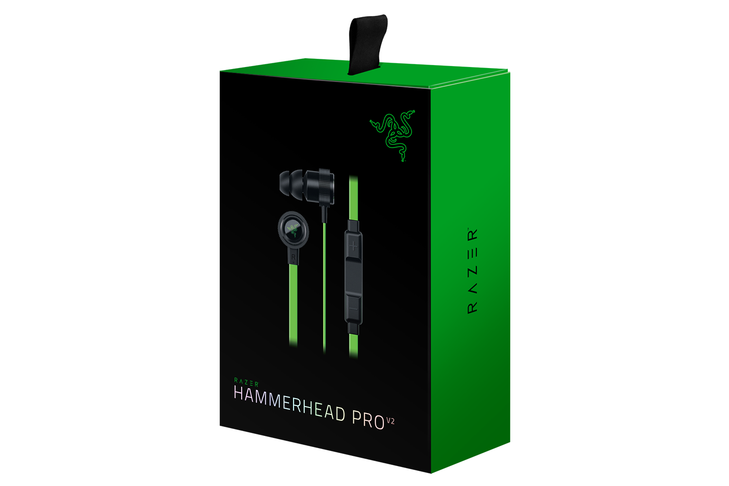 razer hammerhead pro v2 in ear headphones with mic and in line remote. Black Bedroom Furniture Sets. Home Design Ideas