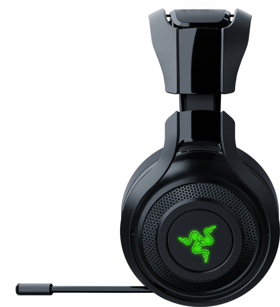 razer mano 39 war casque de jeu sans fil pour pc. Black Bedroom Furniture Sets. Home Design Ideas