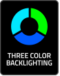 Three Colour Badge