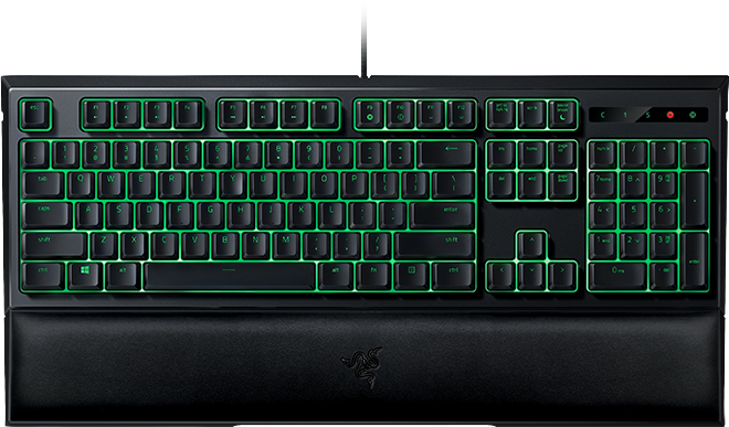 mechanical gaming keyboardbacklit gaming keyboardmechanical keyboard with backlightkeyboard with wrist restRazer Mechanical keyboard