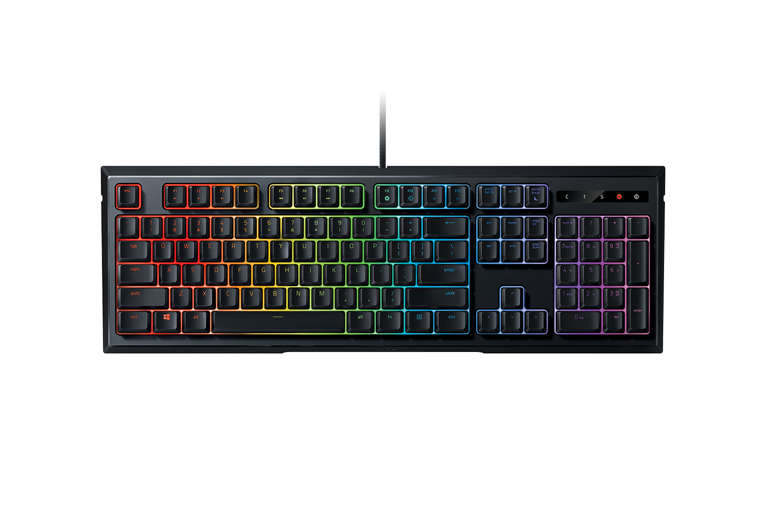 cf41f6cabf8 Razer Ornata Chroma - Mechanical Membrane Keyboard