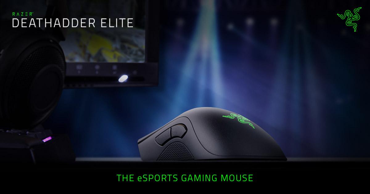 93a4475be7d Esports Mouse - Razer DeathAdder Elite