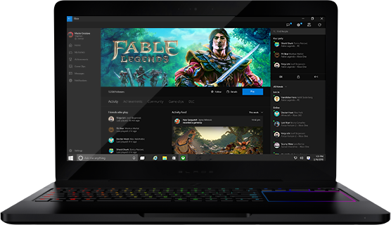Windows 10 Razer Blade