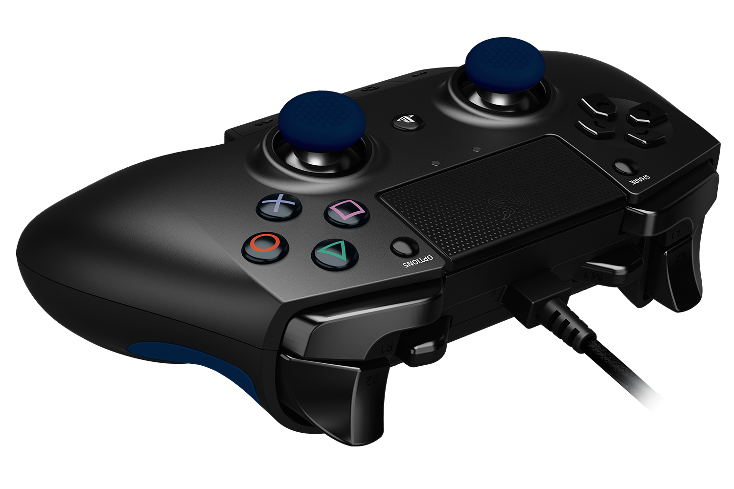 Razer Raiju Gaming Controller For Ps4 Joystick Double Game Pad Transparant Wellcome Gallery