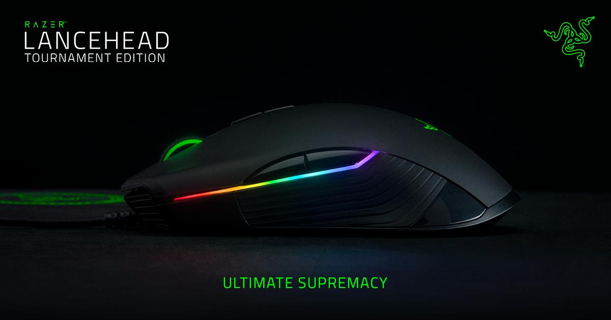 e3b83de3847 Ambidextrous Gaming Mouse - Razer Lancehead Tournament Edition