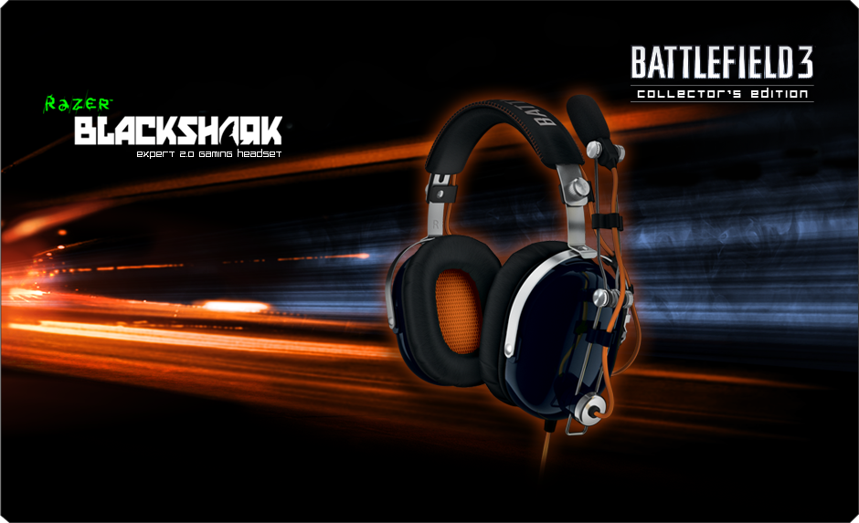 Battlefield 3 Razer Blackshark Gaming Headset Expert 2 0 Gaming Headset Razer Europe